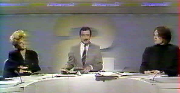 Laurent Boutonnat et Mylène Farmer dans Mylène 1985 - 1986 libjt2