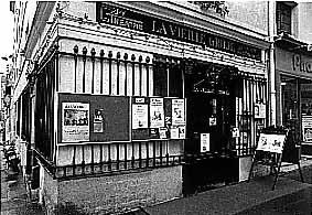 le café-théâtre de la vieille grille , dans le IVe arrondissement